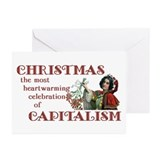 Capitalist Holiday Cards (Pk of 10)