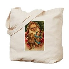 Christmas Santa Claus Gift Tote Bag