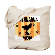 Chihuahua Mom Tote Bag