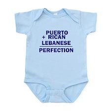 Puerto Rican + Lebanese Infant Bodysuit