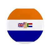 South African Flag 3.5&quot; Button (100 pack)
