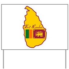 Cool Sri Lanka Yard Sign