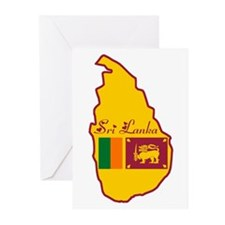 Cool Sri Lanka Greeting Cards (Pk of 20)