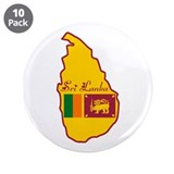 "Cool Sri Lanka 3.5"" Button (10 pack)"