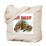 Python Snake - Got Balls Tote Bag
