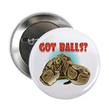Python Snake - Got Balls 2.25&quot; Button