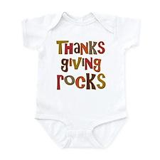 Thanksgiving Rocks Infant Bodysuit