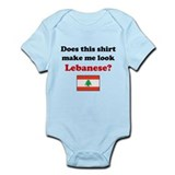 Make Me Look Lebanese Infant Bodysuit