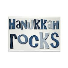 Hanukkah Rocks Rectangle Magnet