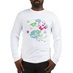Modern Art Peace Collage Long Sleeve T-Shirt