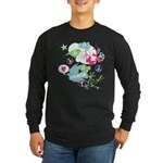 Modern Art Peace Collage Long Sleeve Dark T-Shirt