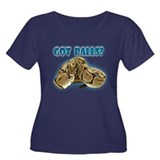 PYTHON SNAKE - GOT BALLS? II Women's Plus Size Sco