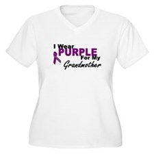 I Wear Purple For My Grandmother 3 (PC) T-Shirt