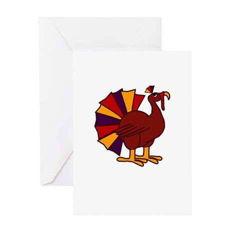 Funny Thanksgiving Turkey Greeting Card