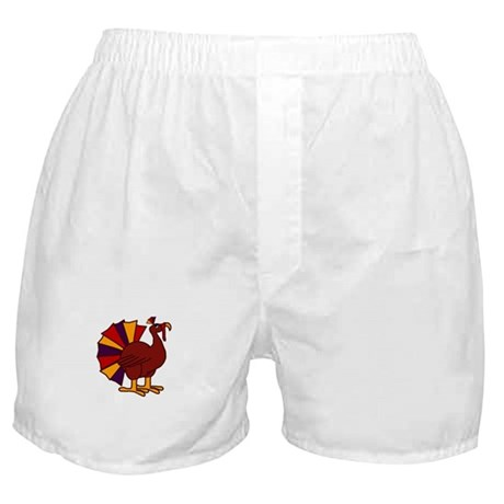 Funny Thanksgiving Turkey Boxer Shorts