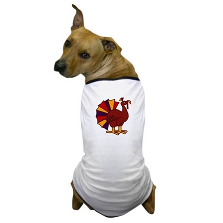 Funny Thanksgiving Turkey Dog T-Shirt