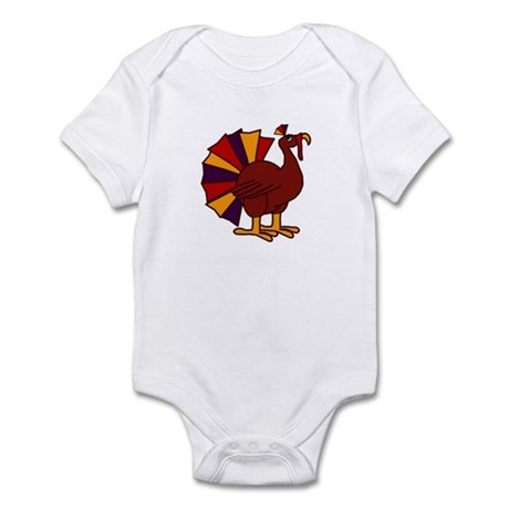 Funny Thanksgiving Turkey Infant Bodysuit