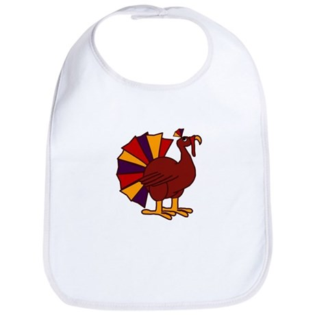 Funny Thanksgiving Turkey Bib