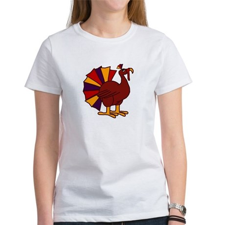 Funny Thanksgiving Turkey Women's T-Shirt