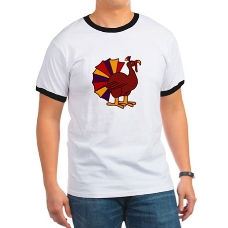 Funny Thanksgiving Turkey Ringer T