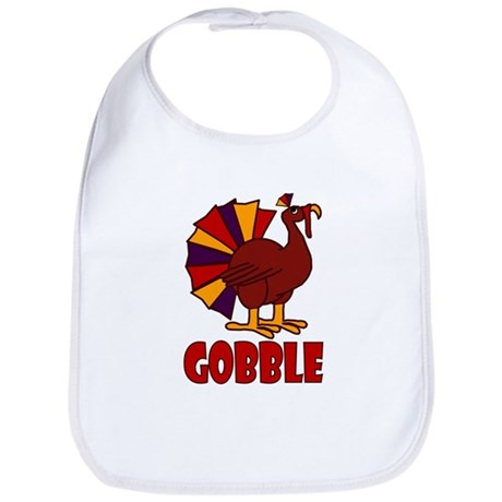 Thanksgiving Turkey Gobble Bib