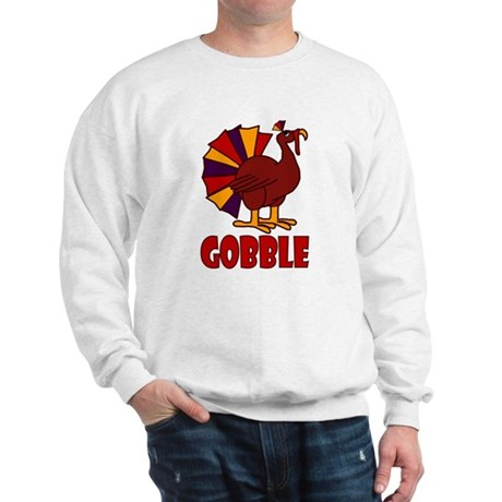 Thanksgiving Turkey Gobble Sweatshirt