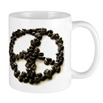 Coffee Drinkers for Peace Mug