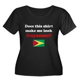 Make Me Look Guyanese Women's Plus Size Scoop Neck