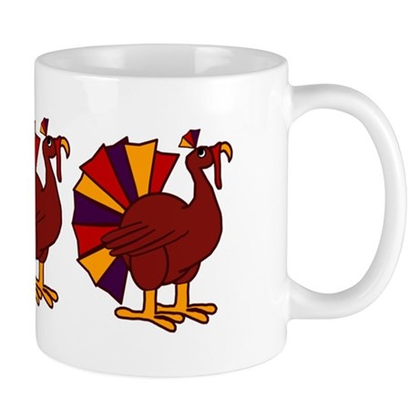 Thanksgiving Turkey Trio Mug