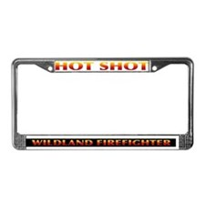 Firefighter License Plate Frame