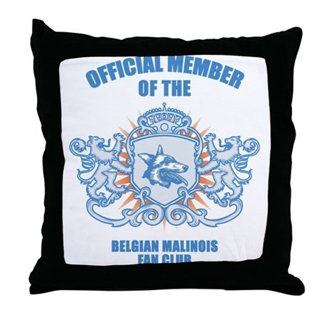 Belgian Malinois Throw Pillow