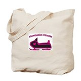 &quot;Snowmobile Princess&quot; Tote Bag