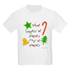 """Christmas at Nana's"" Kids T-Shirt"