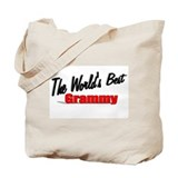 &quot;The World's Best Grammy&quot; Tote Bag