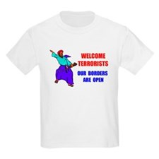 WELCOME TERRORISTS T-Shirt