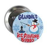 "Grandpa's Ice Fishing Buddy 2.25"" Button (10 pack)"