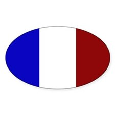 French Republic - Oval Decal