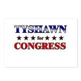 TYSHAWN for congress Postcards (Package of 8)