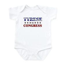 TYRESE for congress Infant Bodysuit