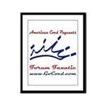 Forum Fanatic Framed Panel Print