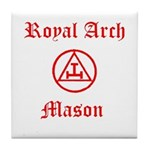 Royal Arch Mason Tile Coaster