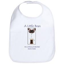 Cute Cocoa beans Bib