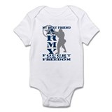 Best Friend Fought Freedom - ARMY  Onesie