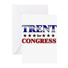 TRENT for congress Greeting Cards (Pk of 10)