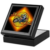 Full Speed Race Bike Keepsake Box