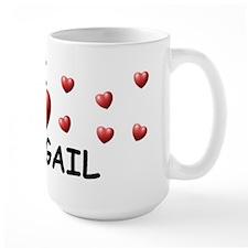 I Love Abbigail - Mug
