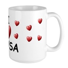 I Love Alysa - Mug