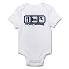 Eat, Sleep, Windsurfing Infant Bodysuit