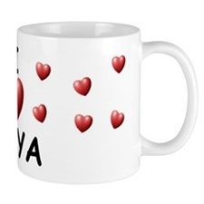 I Love Amya - Mug