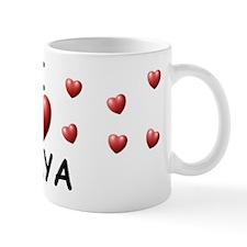 I Love Amya - Small Mug